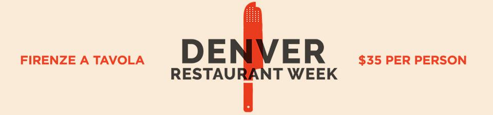 Denver Restaurant Week Banner 2017